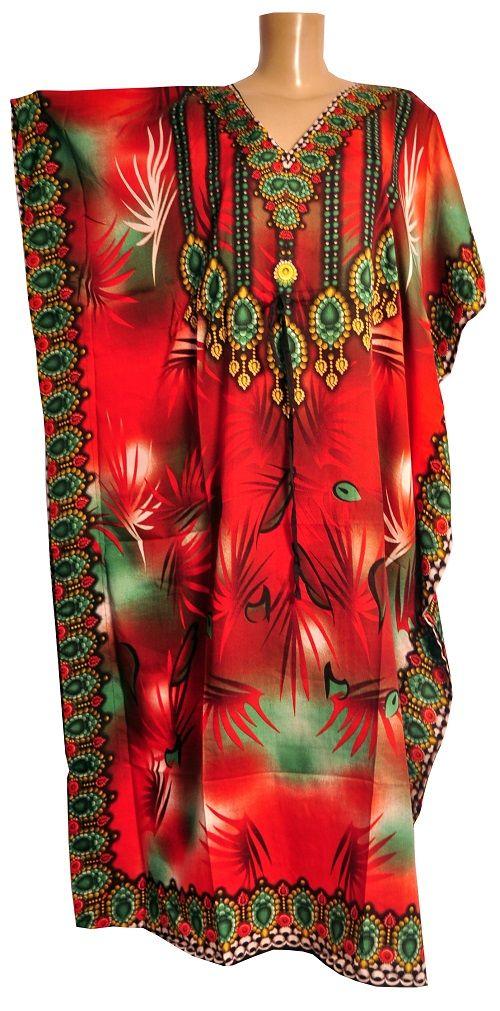 ee64598e6 Kafta Indiana Longa Hannamoon Artigos Indianos, Decoração Moda ...