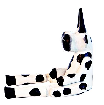 Marionete de Vaca em madeira