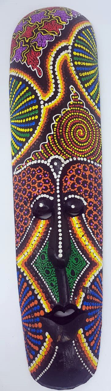 Mascara Lombok Colorida Purple Dots
