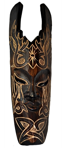 Mascara Lombok Tribal Tiki
