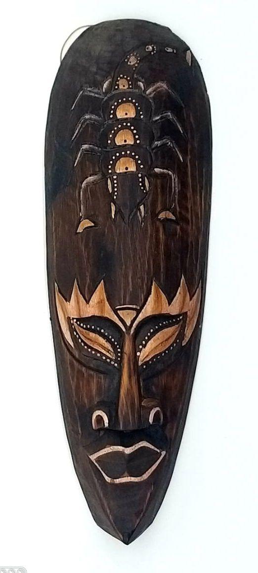 Mascara tribal Animais Scorpion 30 cm