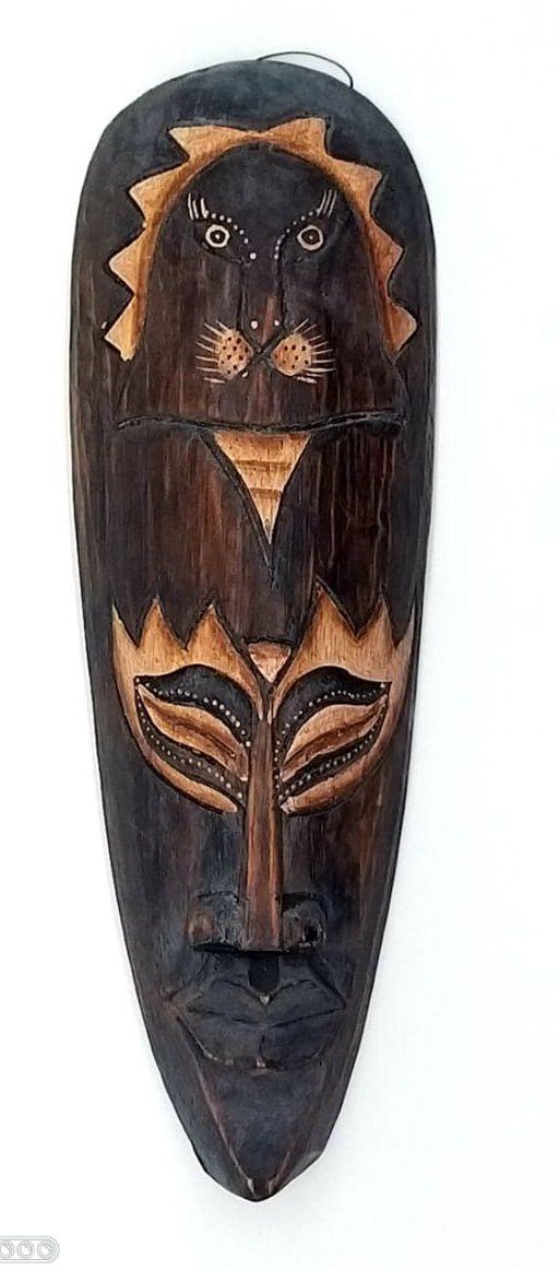 Mascara tribal Animais 30 cm