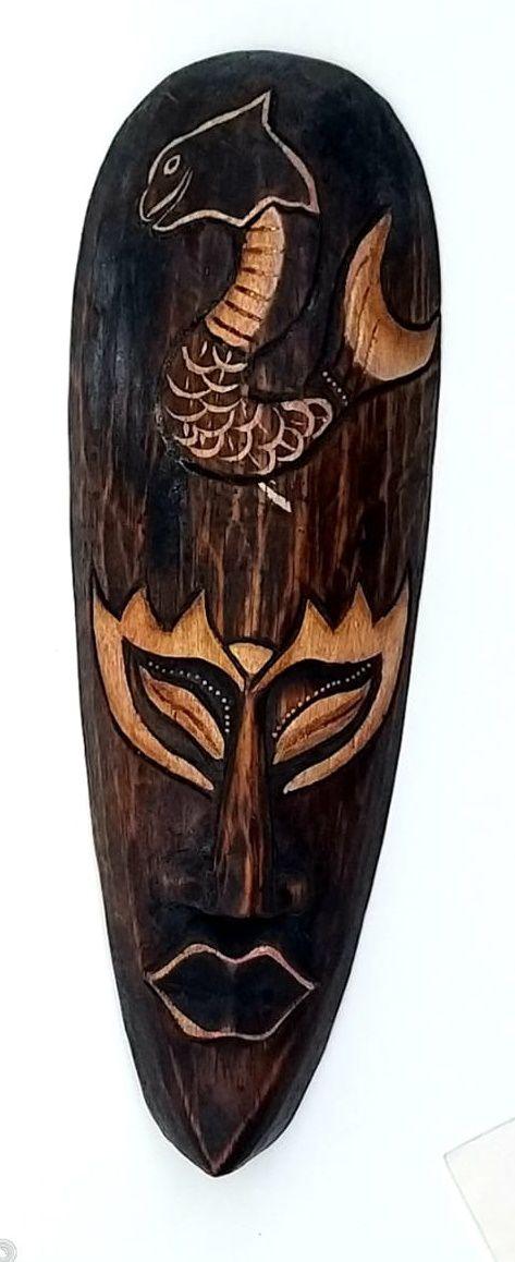Mascara tribal Animais SERPENTE  30 cm