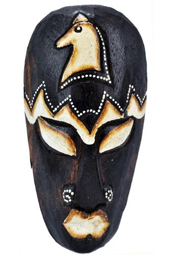 Mascara tribal Animais