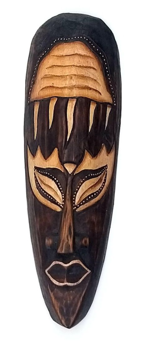 Mascara tribal Animais AGUA VIVA 30 cm