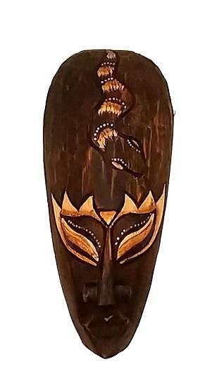 Mascara tribal Animais  COBRA 20 cm
