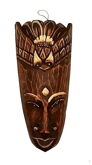 Mascara tribal Animais  PASSARO 20 cm