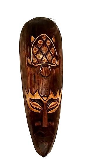 Mascara tribal Animais TARTARUGA  30cm