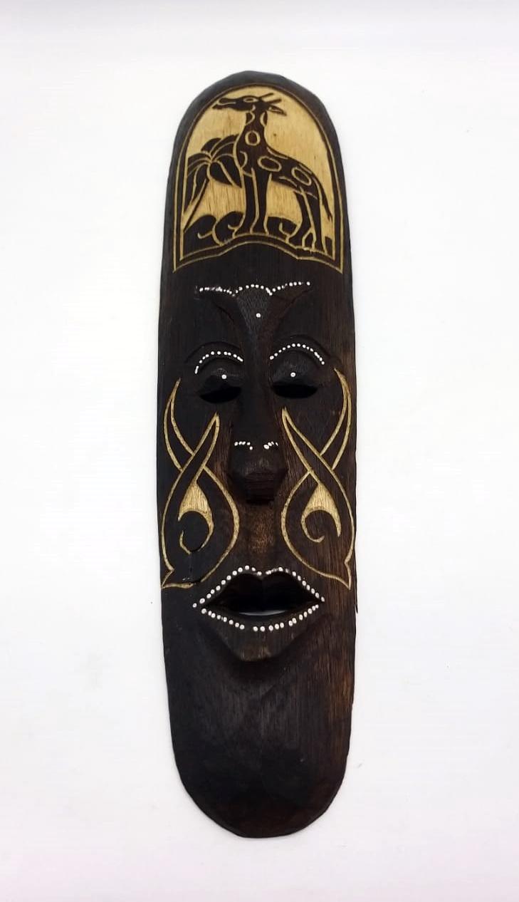 MASCARA TRIBAL  GIRAFA  50 cm