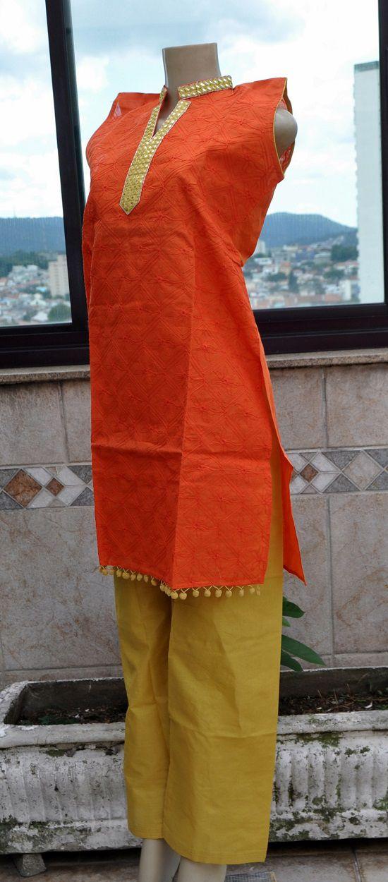 PANJABHI INDIANO ORANGE MODERN