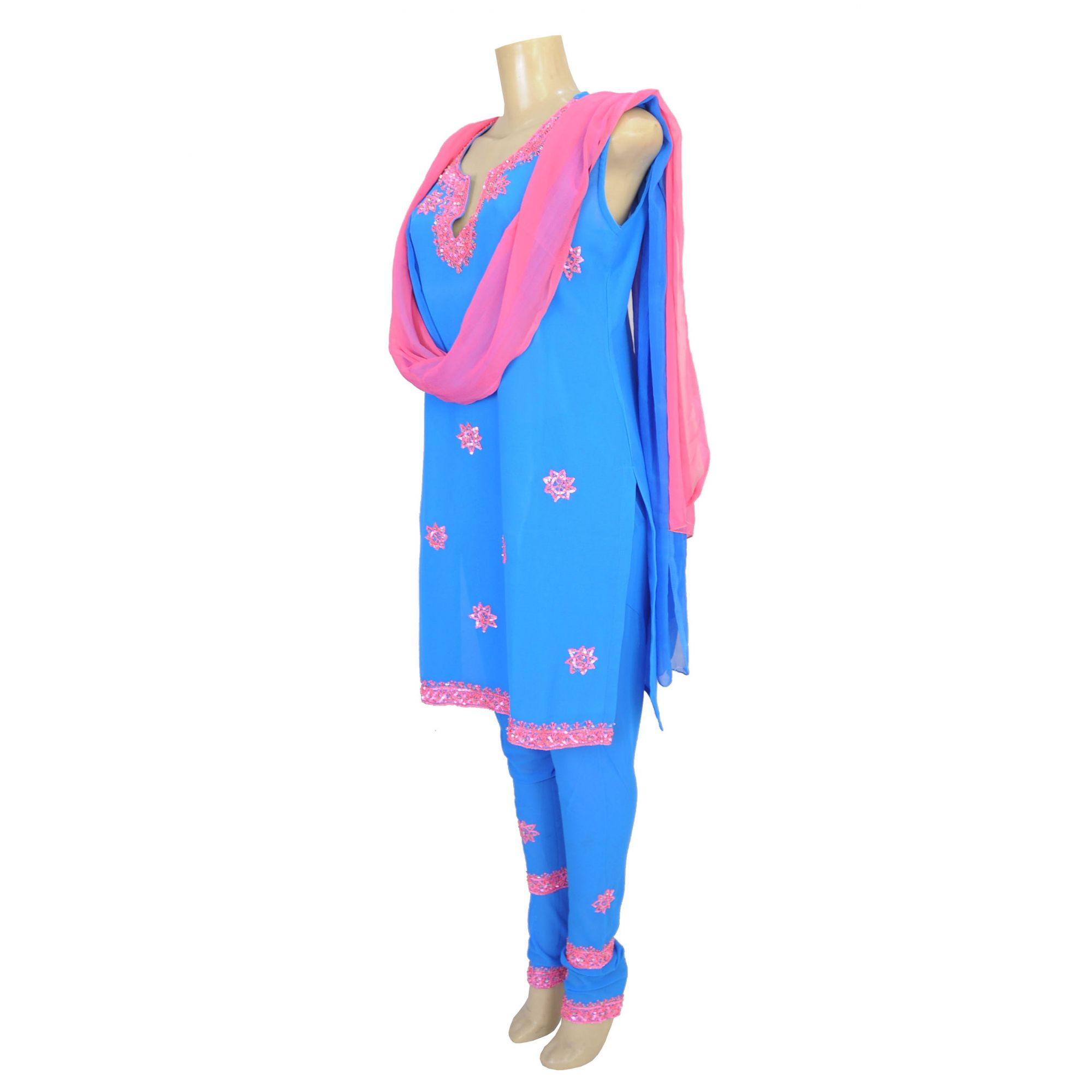 115d4d730 Panjabi Indiano Pink Flower - Hannamoon Panjabi Indiano Pink Flower -  Hannamoon ...