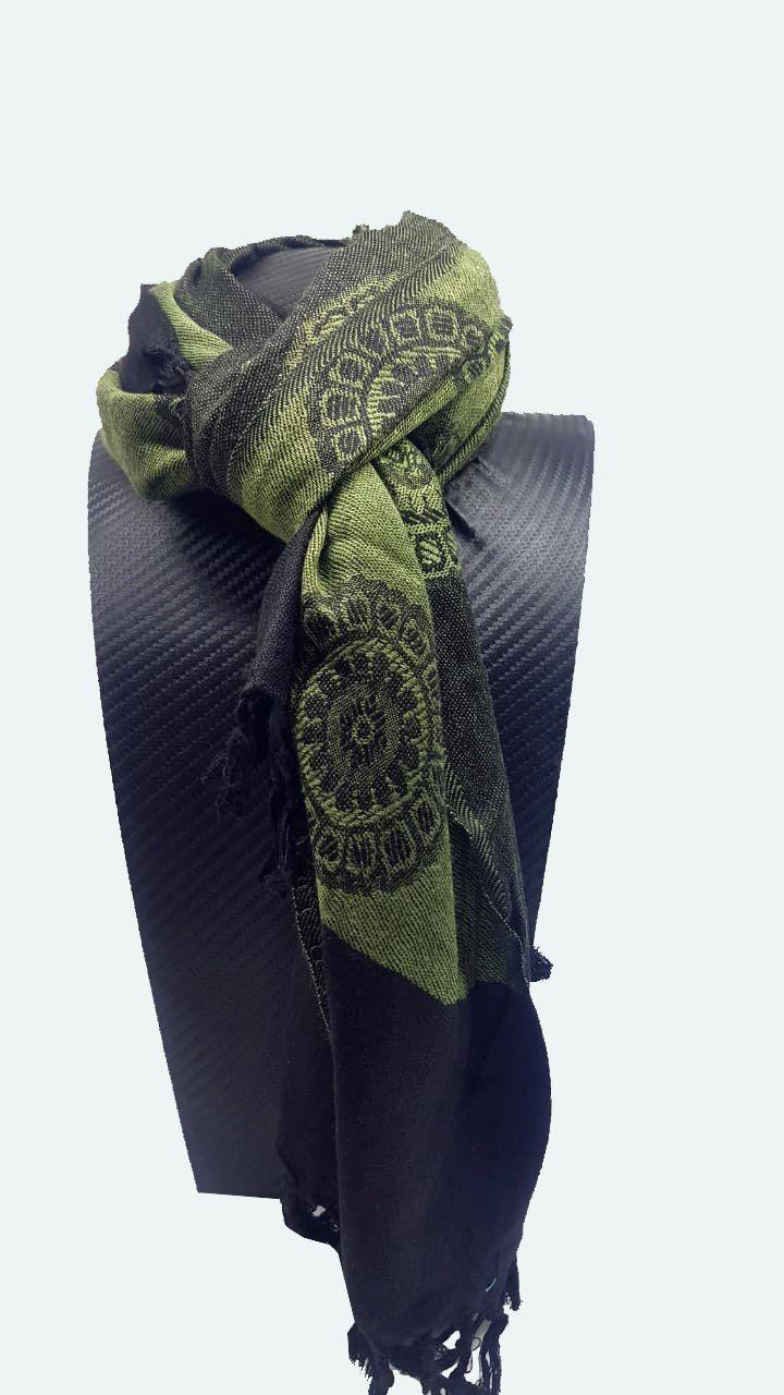 Pashimina Indiana Green Mandala