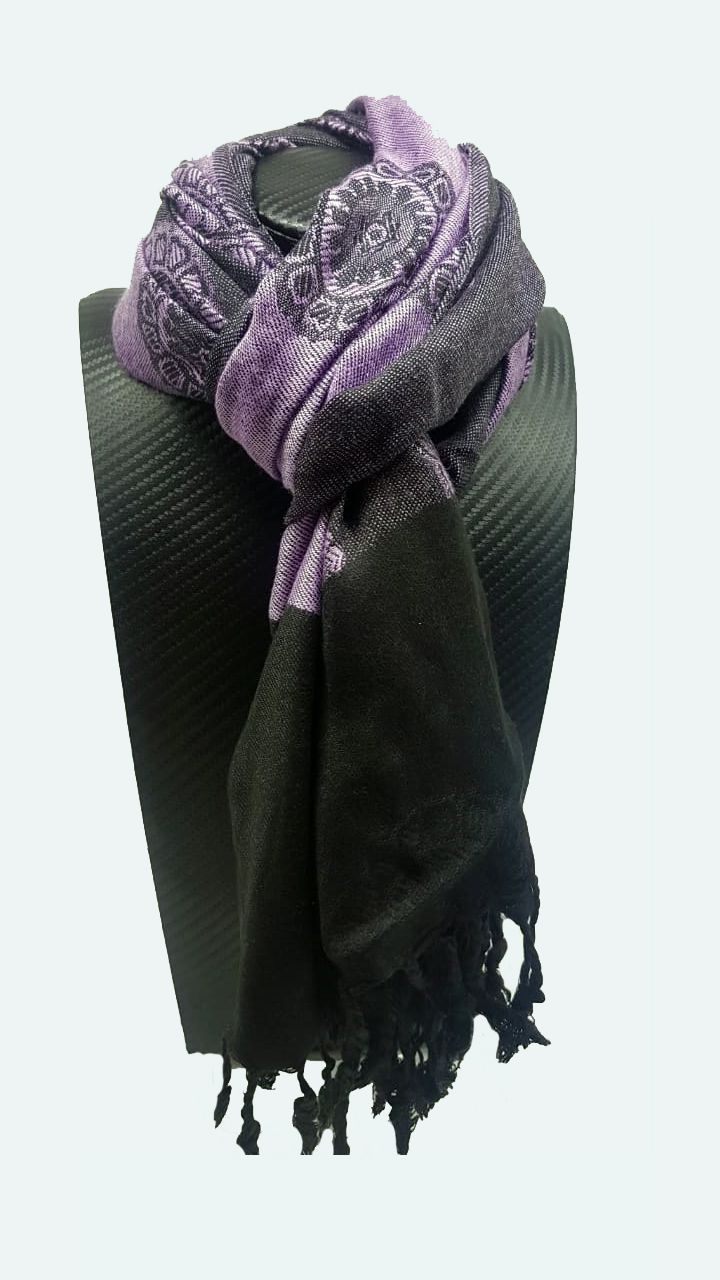 Pashmina Indiana Purple Mandala