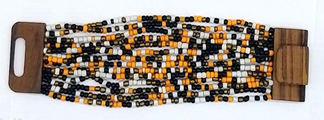 PULSEIRA EM MISSANGA Yellow Black