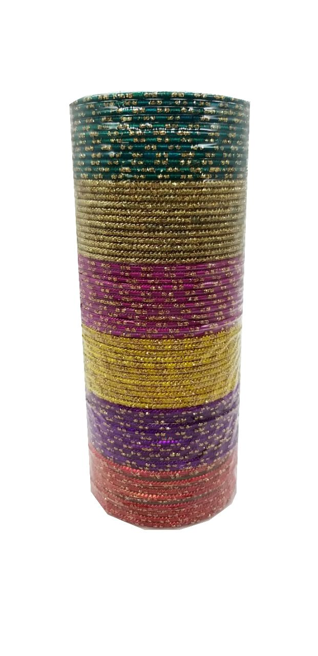 pulseira indiana em metal colorido multicolor