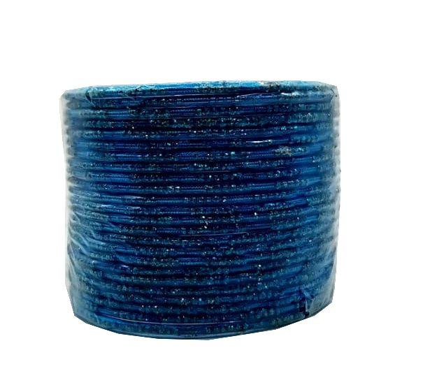 pulseira indiana em metal colorido blue