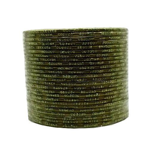 pulseira indiana em metal colorido green