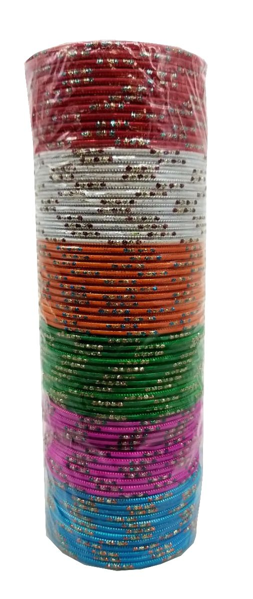 pulseira indiana em metal colorido colorful beauty
