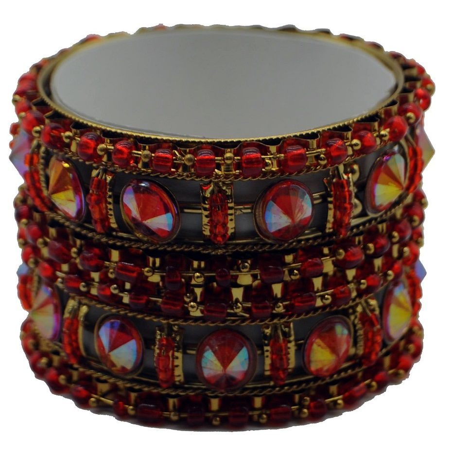 Pulseira Indiana Red Pearl