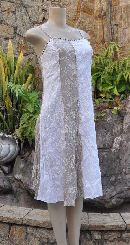 Vestido Indiano Nude Pale