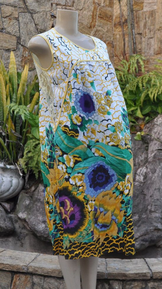 Vestido Indiano Sunflower