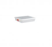Caixa Organizadora Plástico C/Tampa Ref: 508 Bioprátika 9 Litros