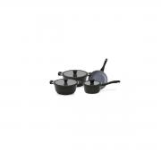 Jogo De Panelas Indução 4pçs Ceramica Ecolumi Premium 4.5
