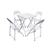 Mesa Bar E Cadeiras Conjunto 1 Mesa 4 Cadeiras 60x60