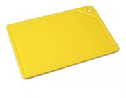 Tábua Placa De Corte Polietileno Canaleta 37x25x1 Amarela Bg REF:165