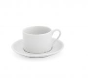 Xicara Chá Com Pires Empilhavel. 170 ml Ref.1172
