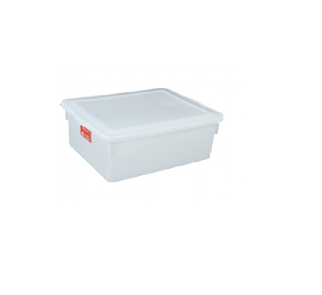 Caixa Organizadora Bioprática c/ Tampa 42,5x34,5x16cm - 16,5 litros Pleion  - LZ COZINHA