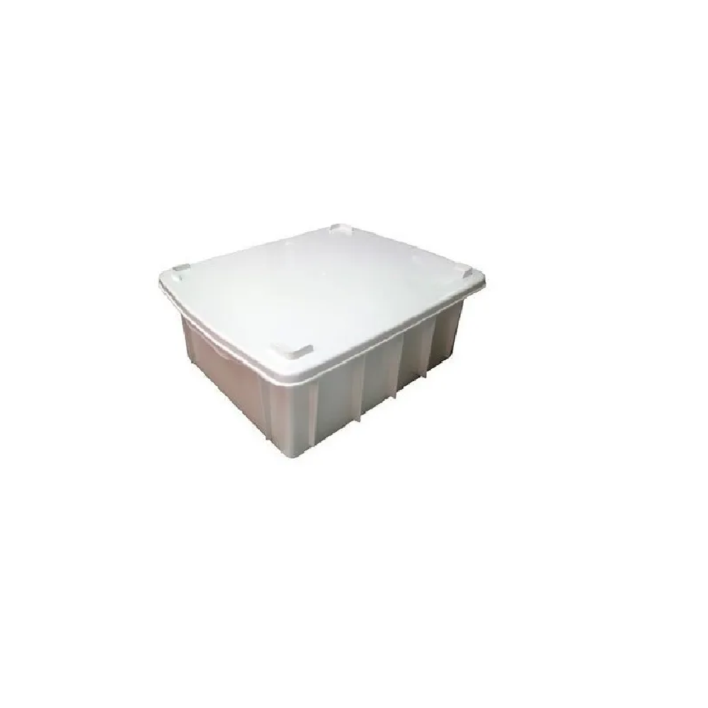 Caixa Organizadora CX2 BCA 28L (49x34,5x22,5) JSN Com Tampa   - LZ COZINHA