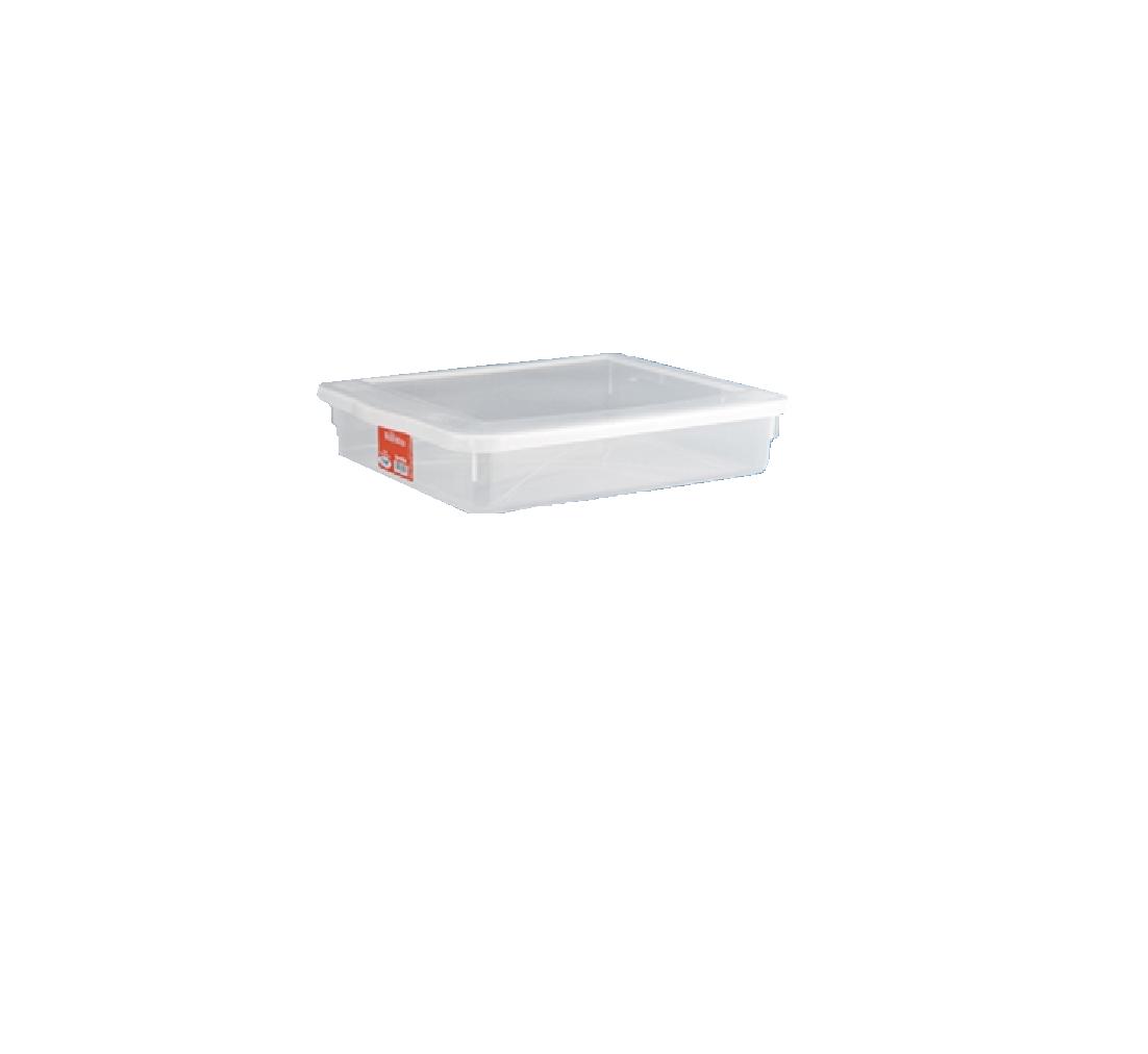 Caixa Organizadora Plástico C/Tampa Ref: 508 Bioprátika 9 Litros  - LZ COZINHA