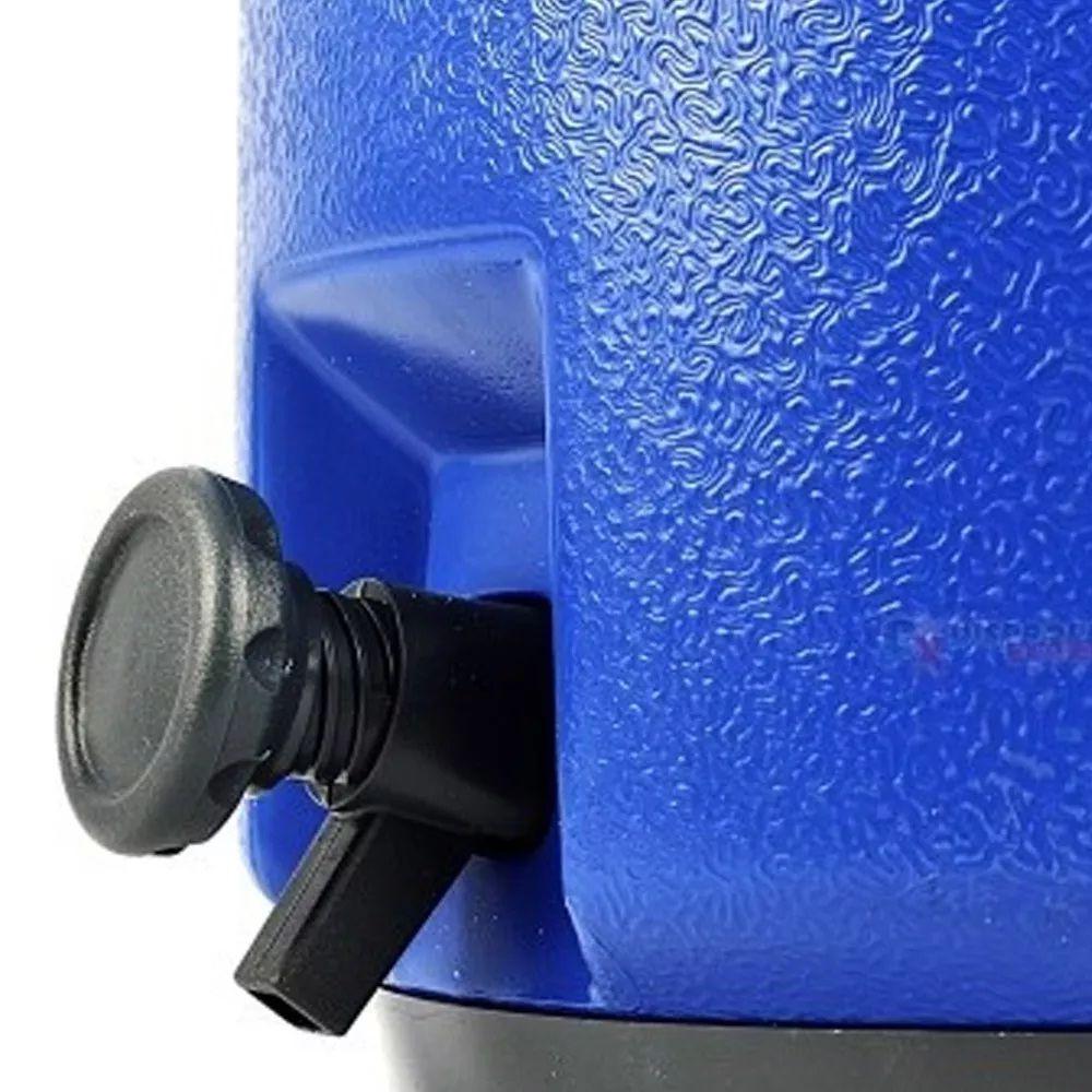 Botijão Garrafa Térmica Botijão 12 Litros Azul Termolar  - LZ COZINHA