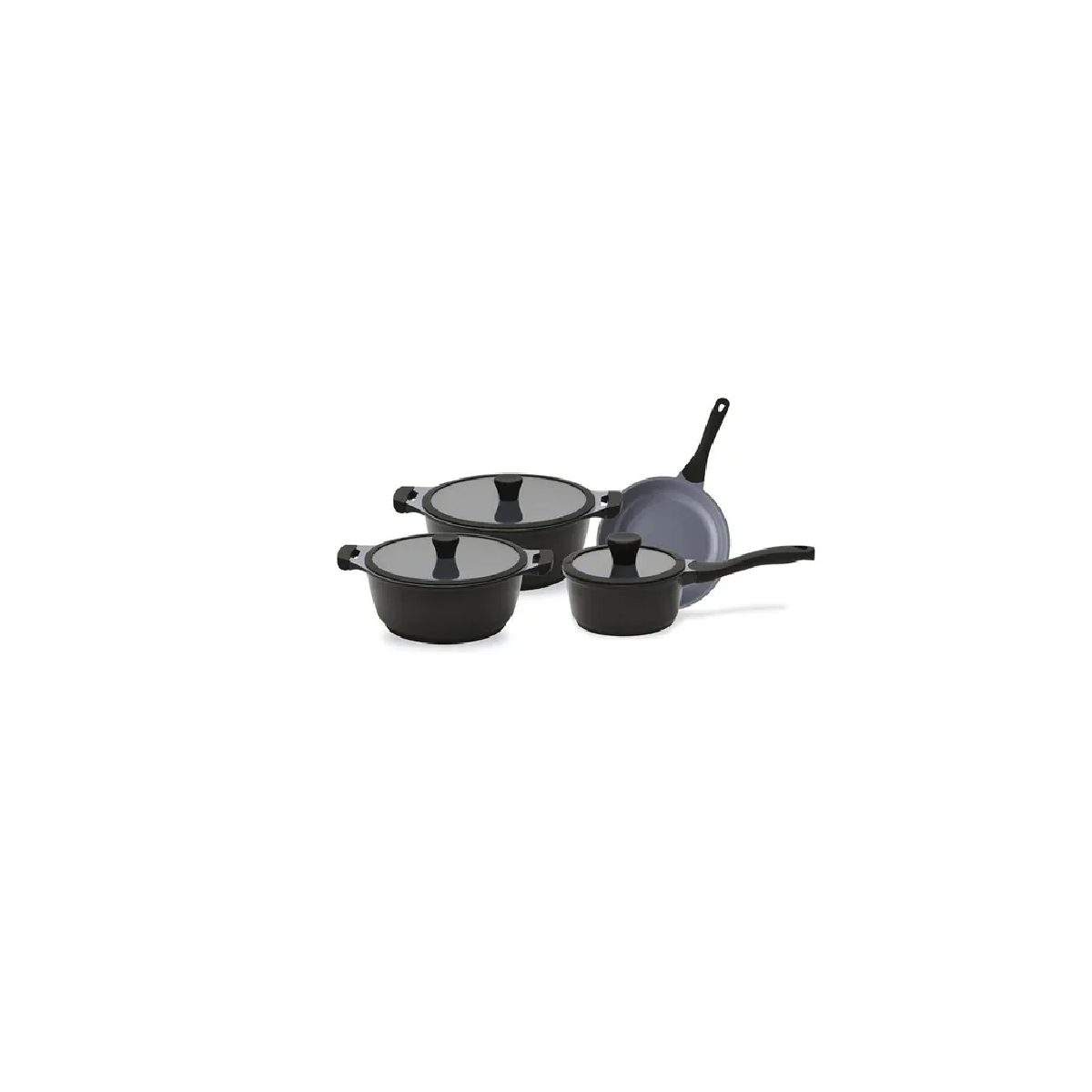 Jogo De Panelas Indução 4pçs Ceramica Ecolumi Premium 4.5  - LZ COZINHA