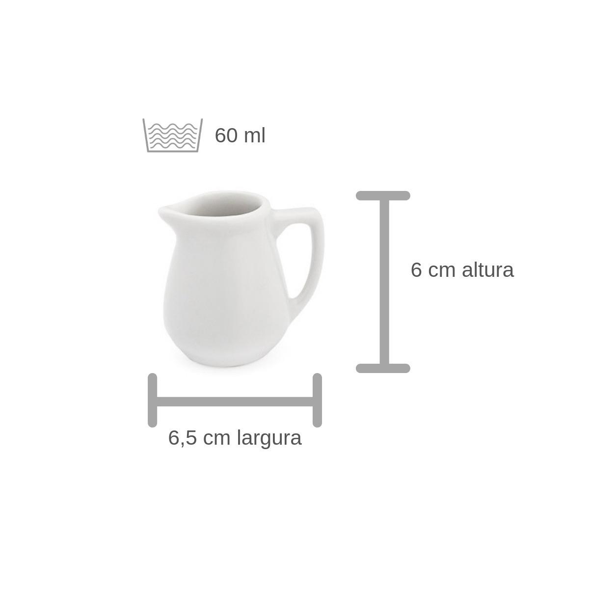 Leiteira De Porcelana 60 Ml - Geni Ref 1604/7  - LZ COZINHA