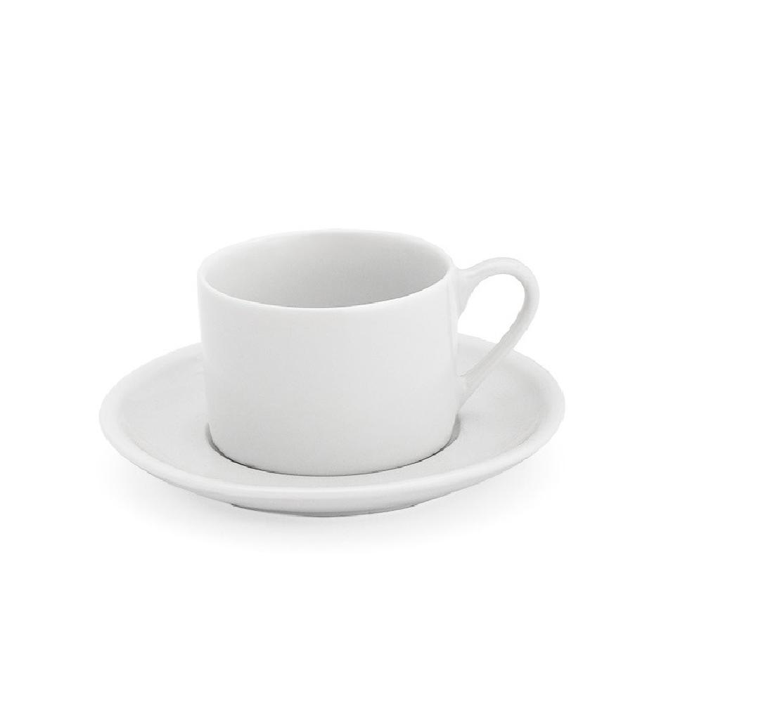 Xicara Chá Com Pires Empilhavel. 170 ml Ref.1172  - LZ COZINHA