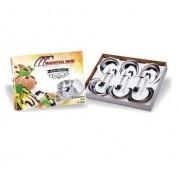 Jogo De Sobremesa Inox - 12 Peças - Madefer Inox