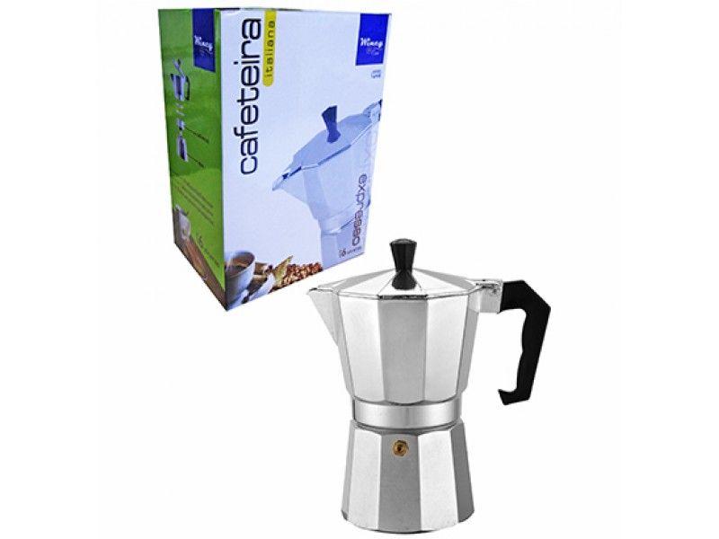 Cafeteira Italiana de Aluminio Especial 400ML para 9 xícaras Wincy