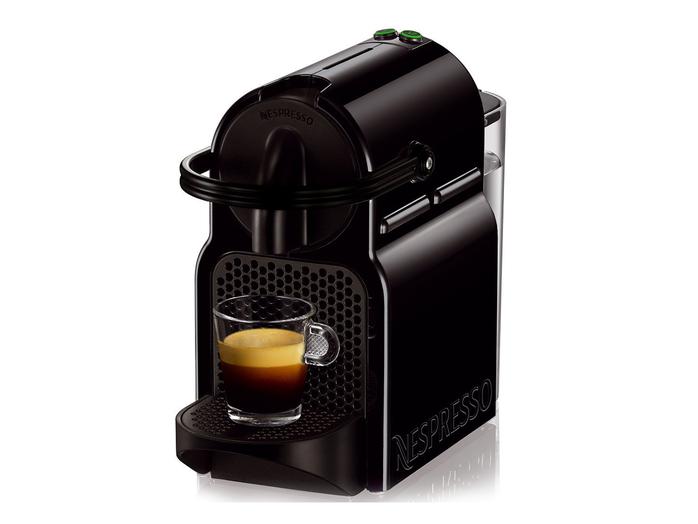 Cafeteira Nespresso Inissia D40 Preta, 127V, Reservatório Água 0,7L, Duas Medidas De Café 40ml e 110ml, Café Extremamente Cremoso