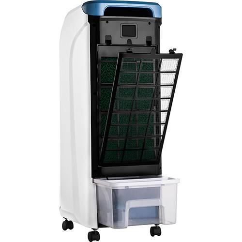 Climatizador de Ar Portátil Cadence Breeze 506 CLI506 com filtro de ar lavável, reservatório 5,3 litros removível, 3 velocidades e 2 funções 127V