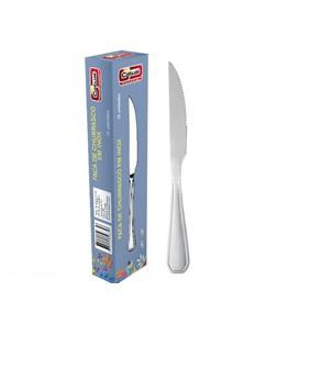 Conjunto de facas em inox Catuai cx c/12 pecas