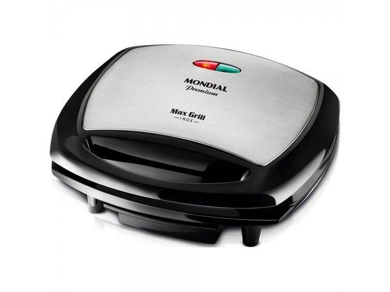 Grill Eletrico 1200W 127V Max Grill G07 Premium Mondial
