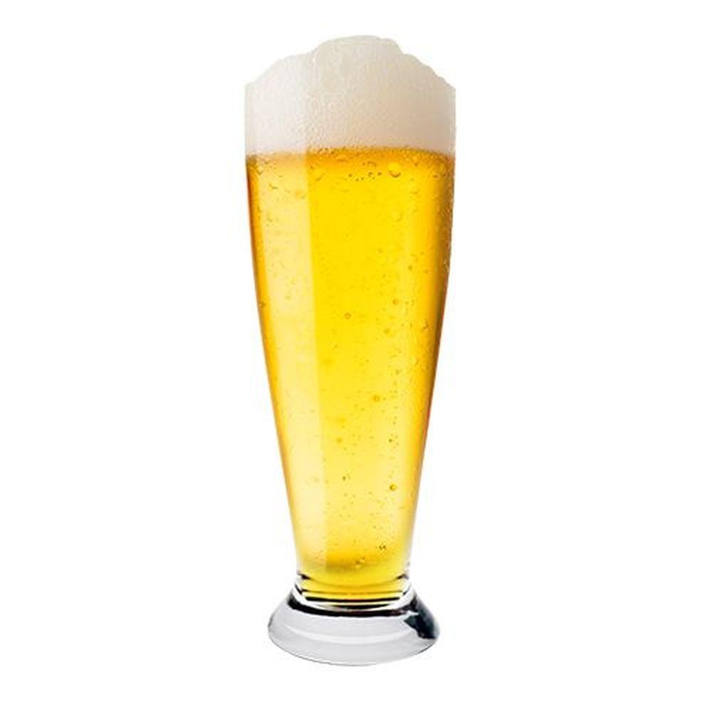 Jogo 6 Copos Cerveja Pilsner Cristal Ecologico Bohemia 300ml 18cm