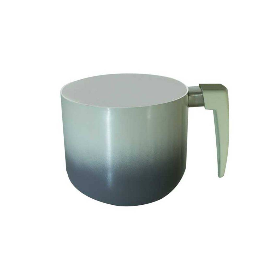 Jogo De Panelas Revestimento Ceramico Chumbo c/ Tampa de Vidro 5 Peças Catuai