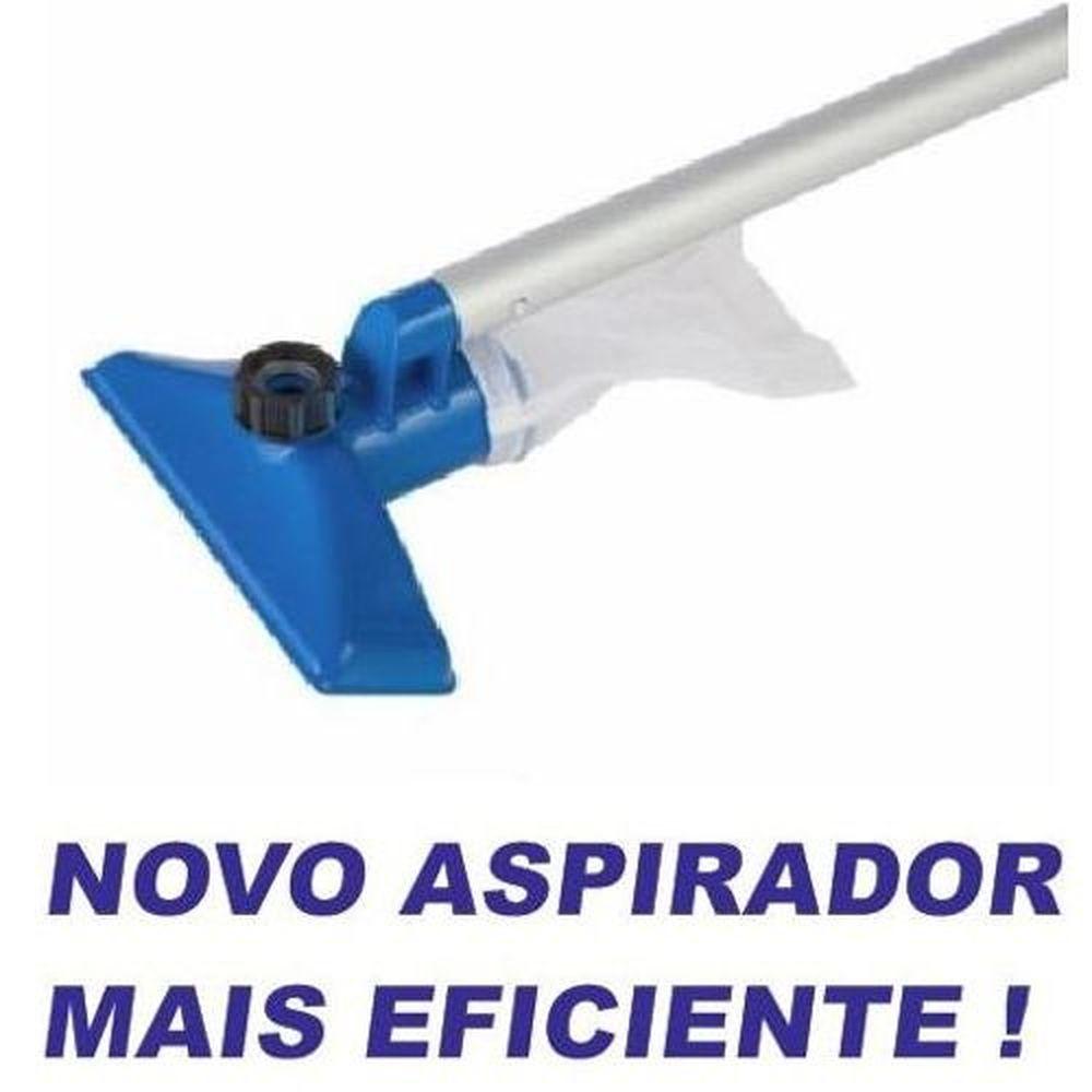 KIT DE LIMPEZA e Manutenção Piscina Intex com Aspirador e Peneira #28002