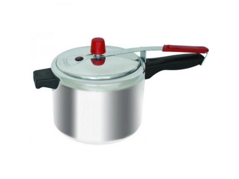 Panela de Pressão em Alumínio Polido 7 litros Arary Mazetto