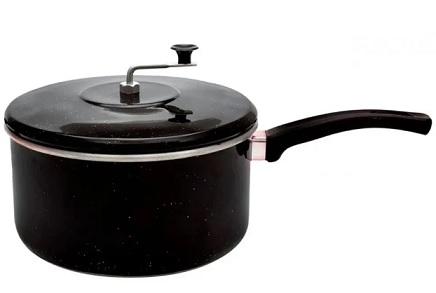 Pipoqueira Mr. Cook Preta - 4,5 Litros