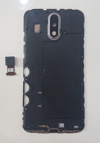 Lente da Câmera Flex Gabinete + Câmera Traseira Moto G4 Xt1626 / G4 Plus Xt1640 Original