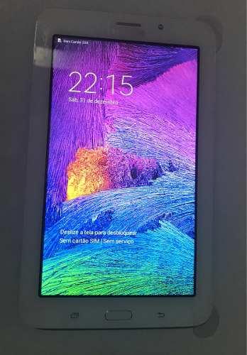 "Frontal  Lcd  Display + Touch Screen Tablet Samsung Tab  E 7"" Sm T116Bu Original"